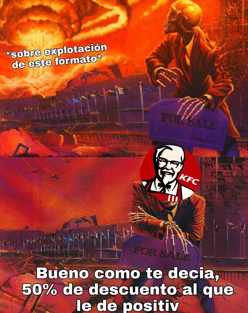 Formato quemado ya see - meme