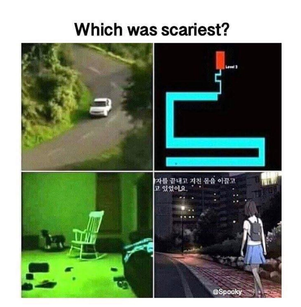 the bottom two got me when I was a kid - meme