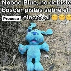 Nooo blue - meme