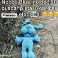Nooo blue