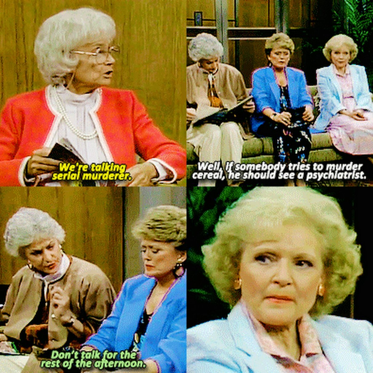 Golden girls is life. - meme