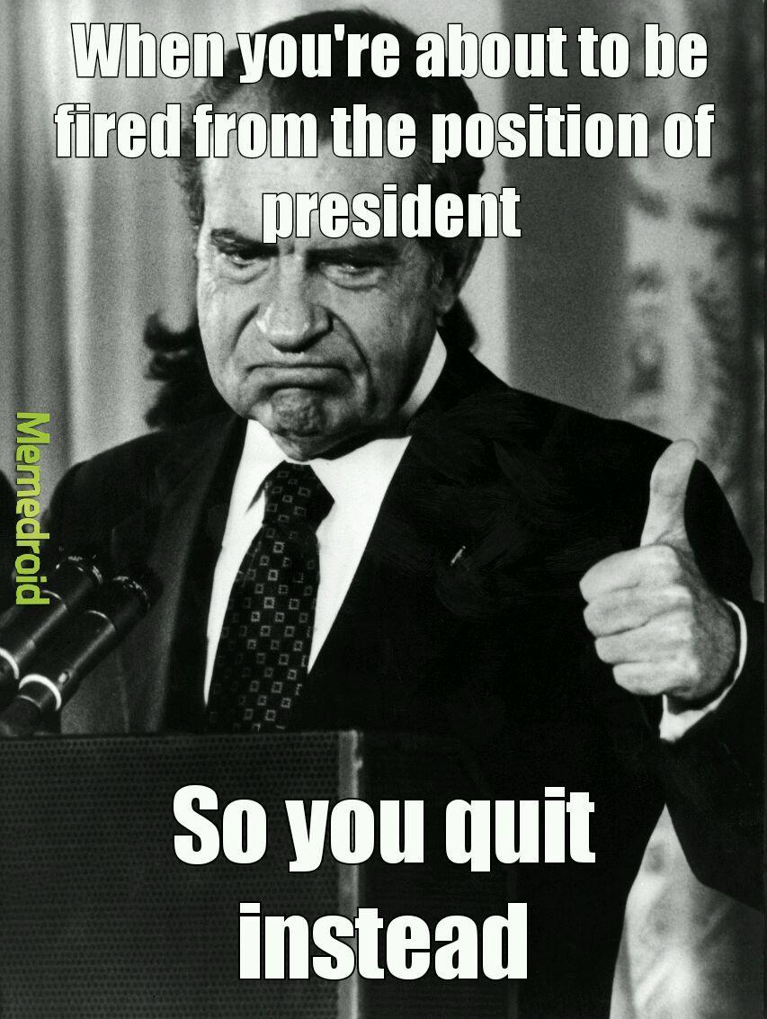 I am not a crook-Richard Nixon - meme