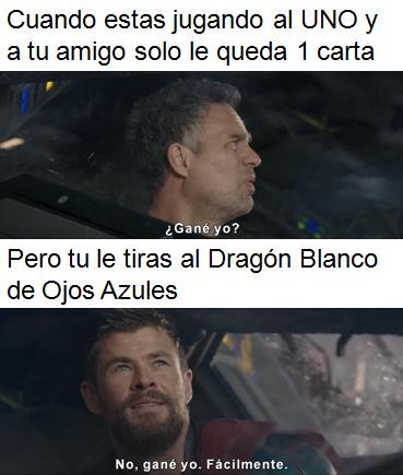 La plantilla viene del trailer de Thor: Ragnarok por si quieren hacer cambios. - meme