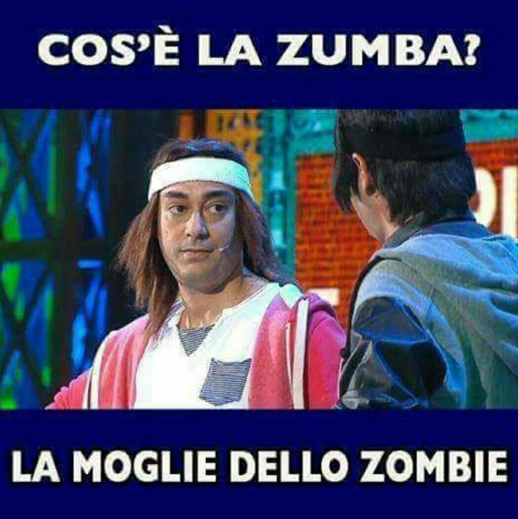 Zombi zombi ballan zumba fino alla chiusura / Ghali - meme
