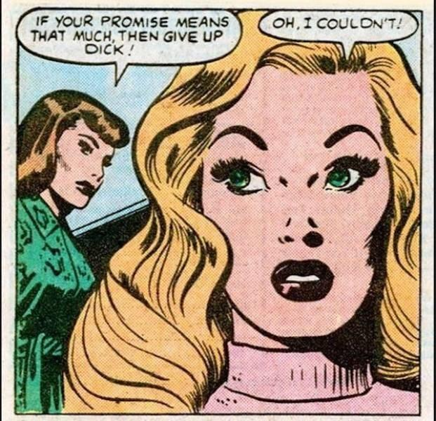 Hoes be every where...even in comic books... - meme