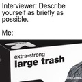 extra-strong large trash