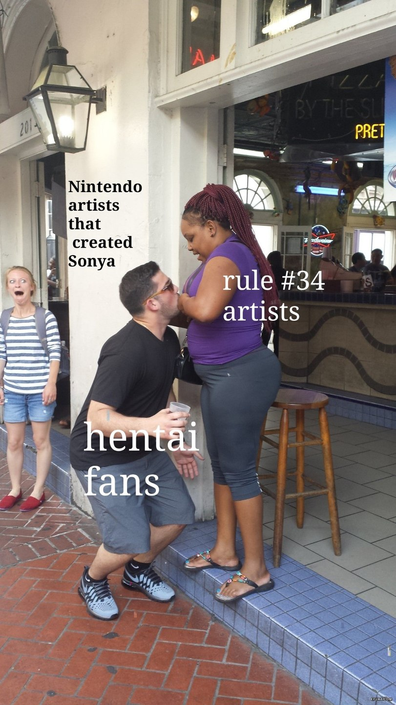 Sonya from sword and shield - meme