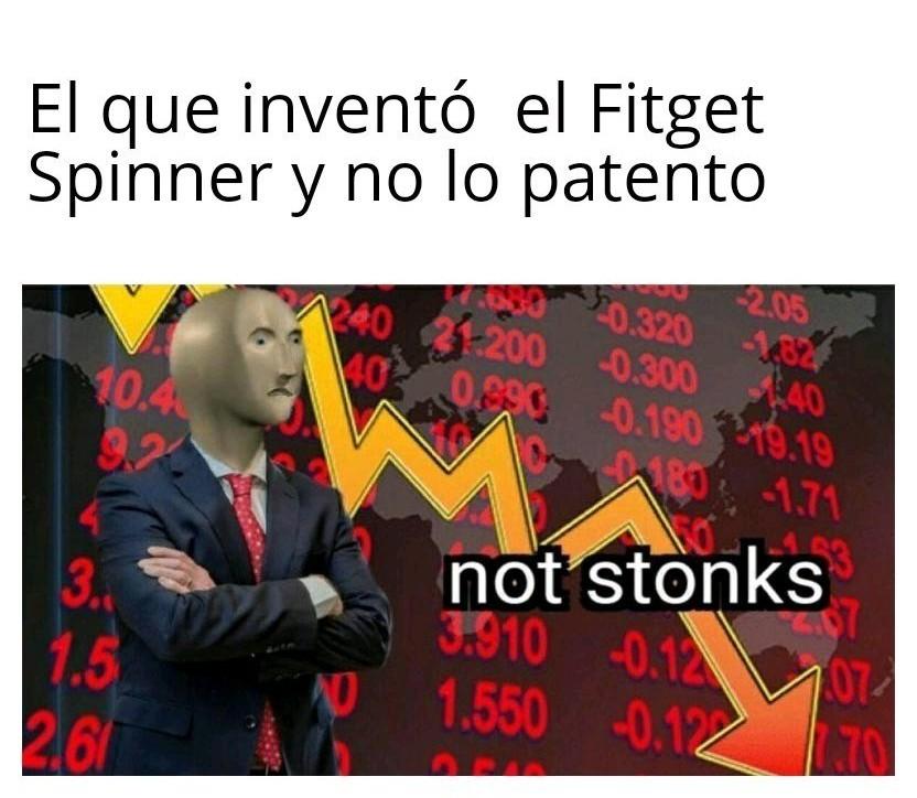 Patentó* lo siento :( - meme