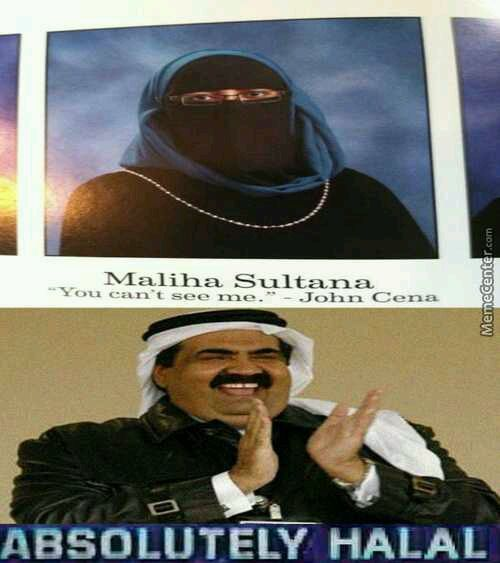 I don't know what halal is - meme