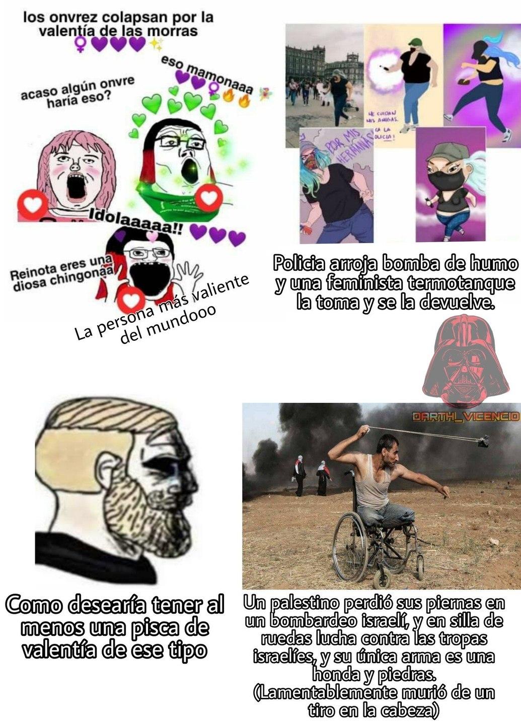 VALENTIA VERDADERA la del Palestino - meme