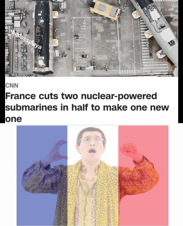 A sub above - meme