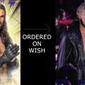 Seth Rollins ordered on Wish