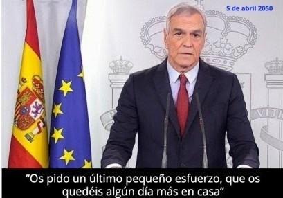 España 2050 del PSOE y Pedro Sánchez - meme