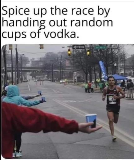 Run Run Vodka Run - meme