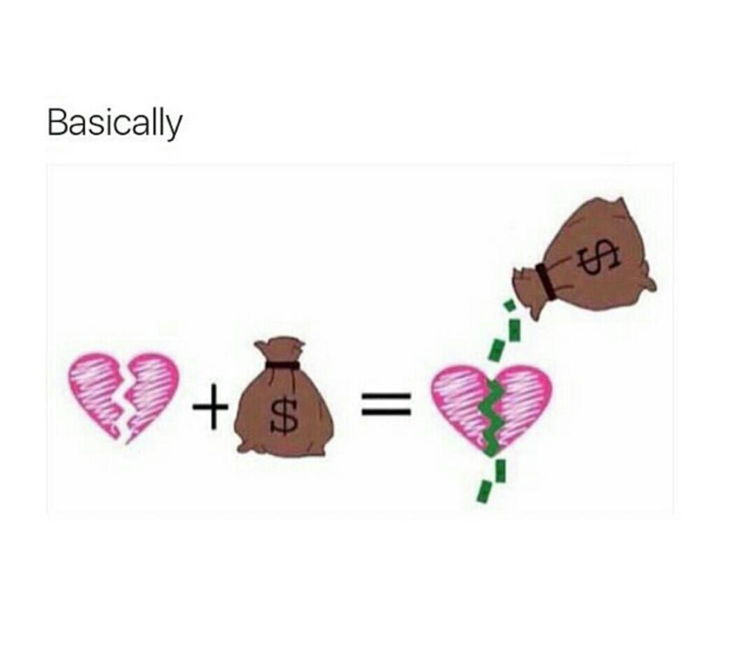 buy everything with money - meme