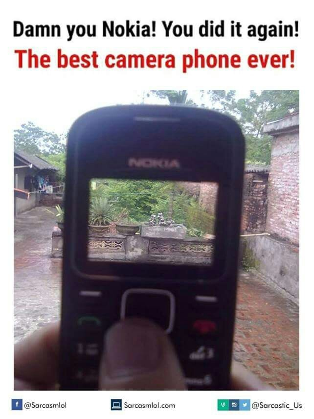 It's nokia - meme