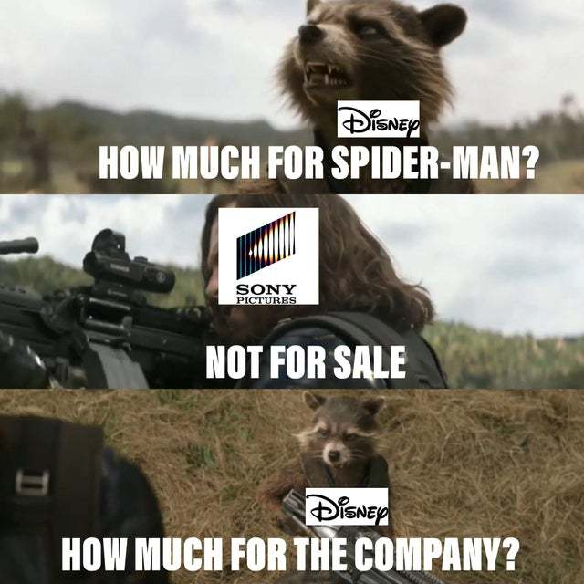 How much for Spiderman? - meme