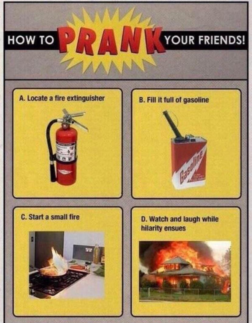 Kill it with fire. - meme