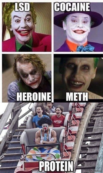 The Protein Joker - meme
