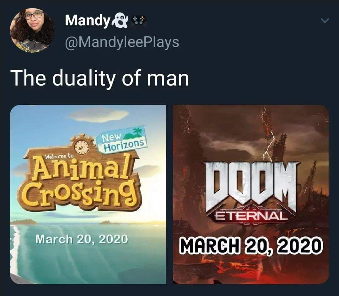 Animal Crossing is coming bois! - meme