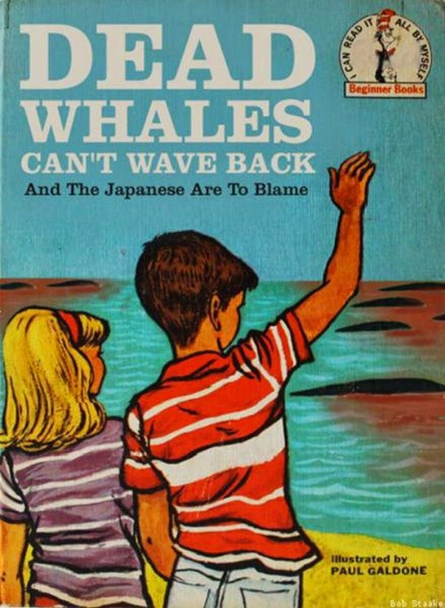 Delicious dead whales - meme