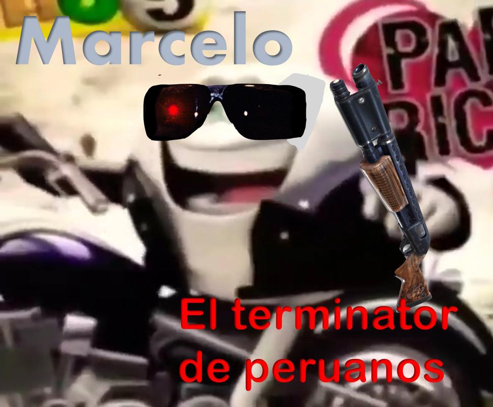 El terminator se peruanos - meme