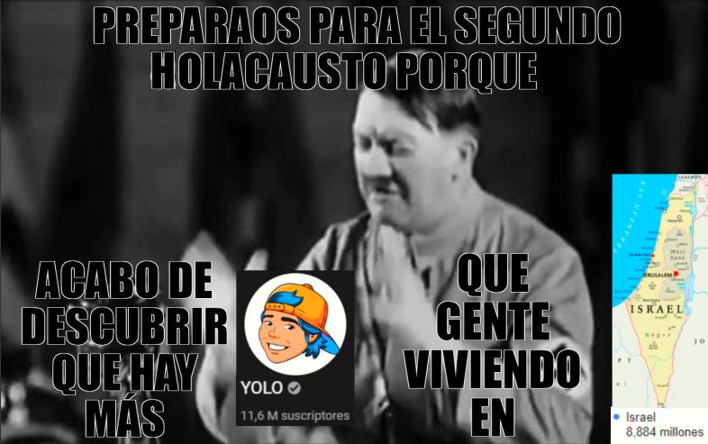 preparaos para el segundo holocausto - meme
