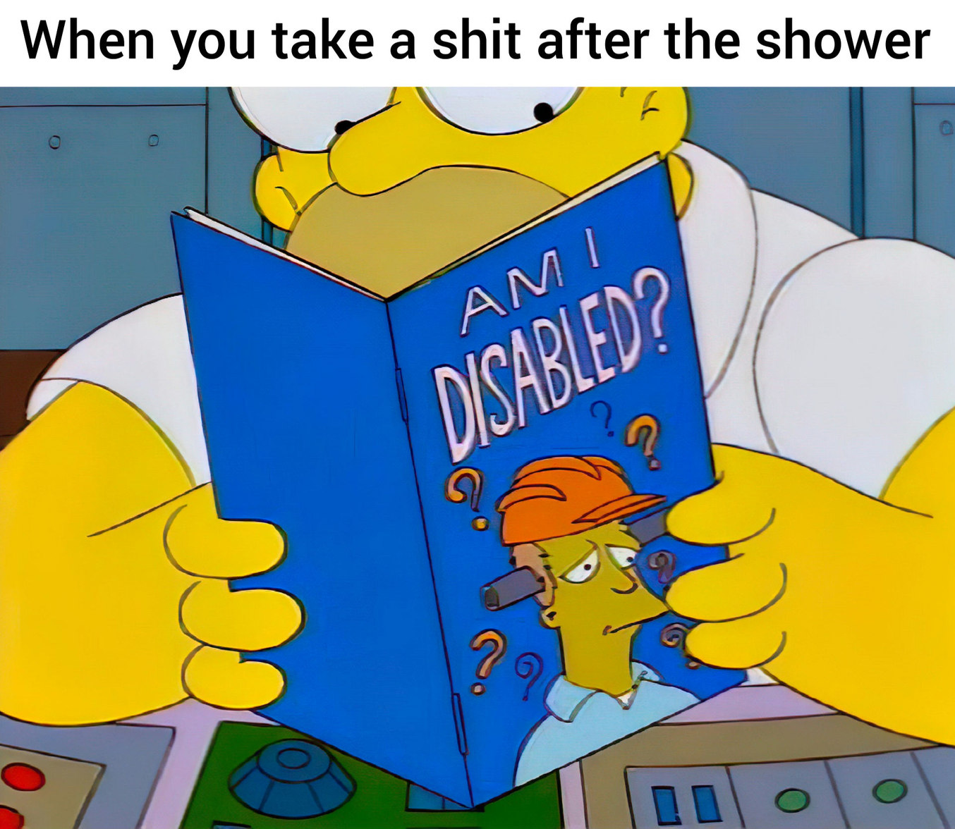 Time for a 2nd shower - meme