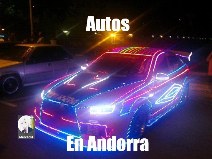 El titulo no es de Andorra - meme