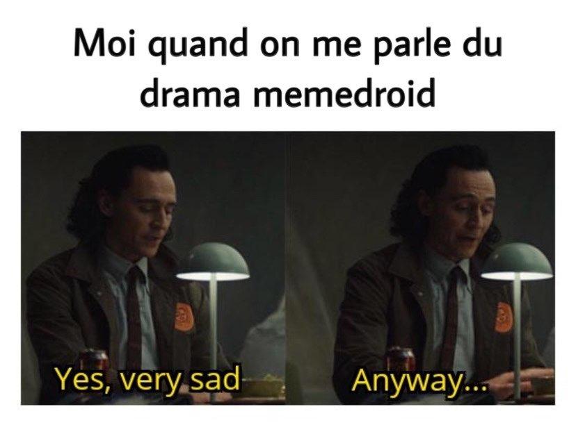 """El famoso """"drama"""". :oui: - meme"""