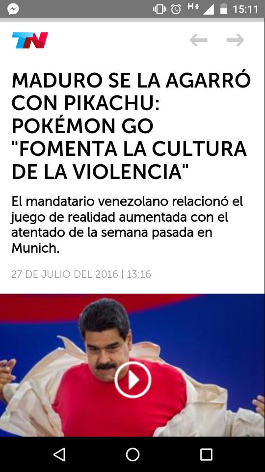 Maduro no madura - meme