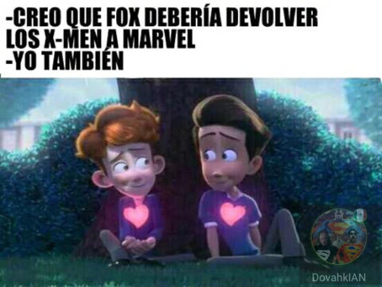 Creo que Disney debería devolver Marvel :betterthan: - meme