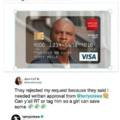 Terry Crews credit card