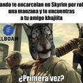 Has cometido crimenes contra Skyrim y su pueblo