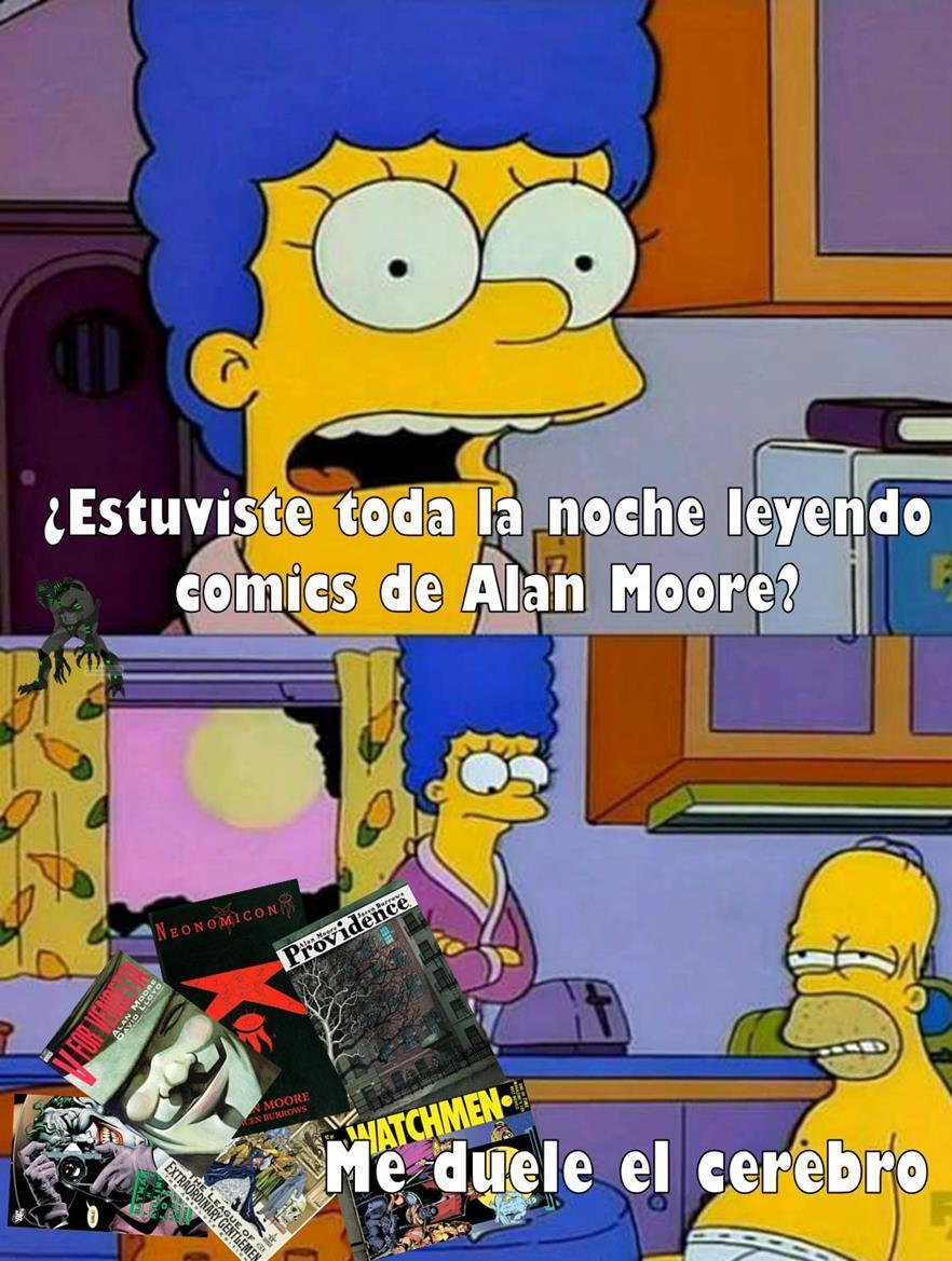 Papi Alan Moore - meme