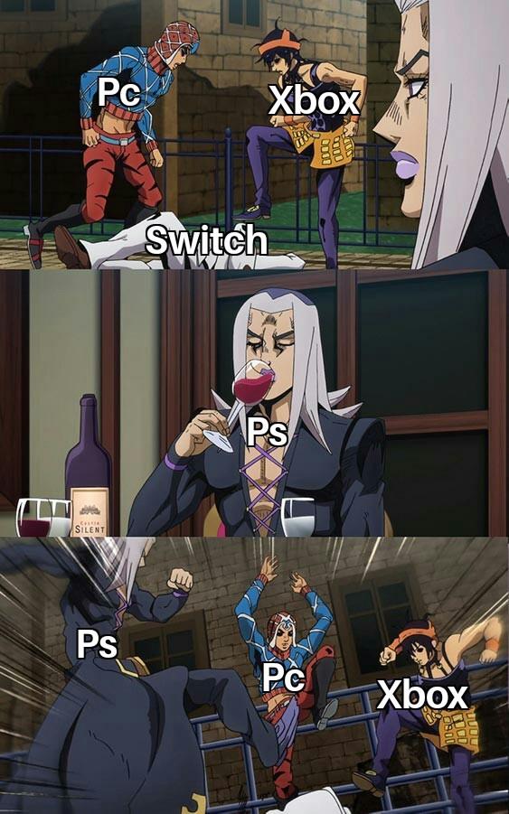 Scorrete la foto - meme