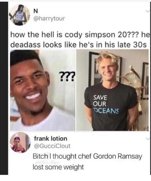 G Ramsey - meme