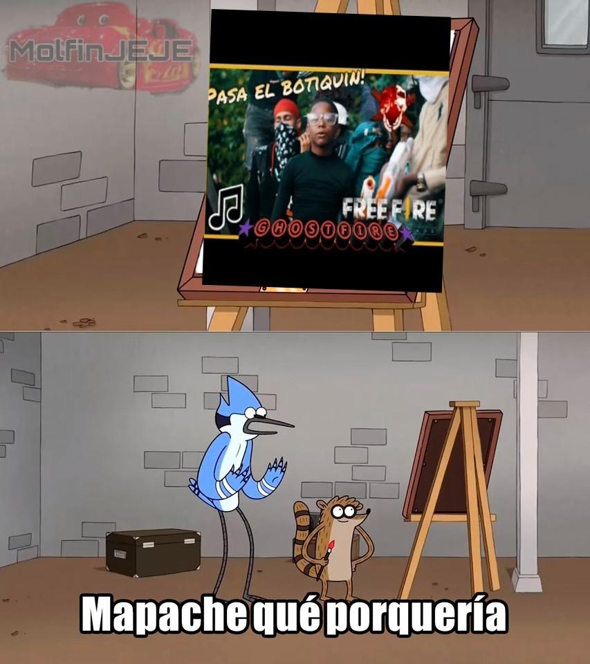 PUM TE TUMBE - meme