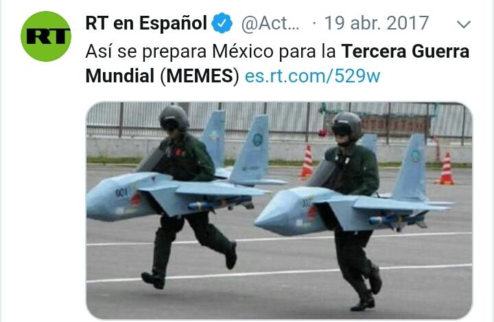 El entrenamiento De México - meme