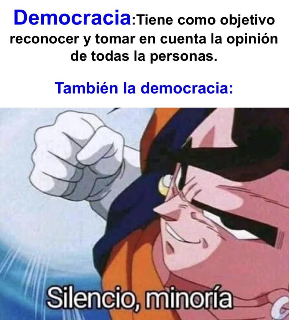 Democracia - meme