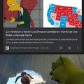 Lo predijeron los Simpsons :o puras mamadas pendejos