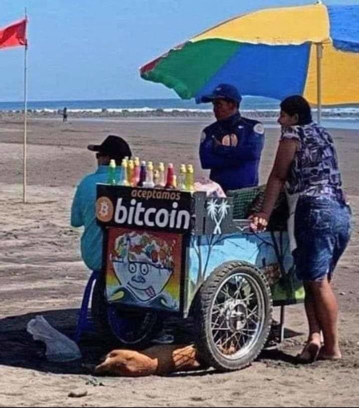 Aceptan bitcoin e - meme