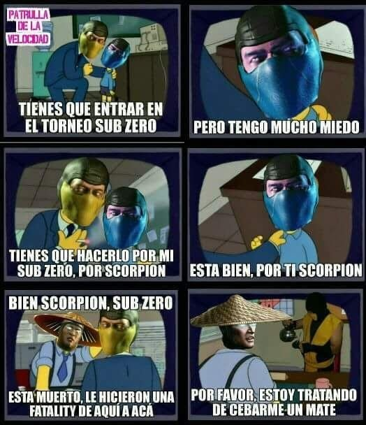 Aguante Scorpion - meme
