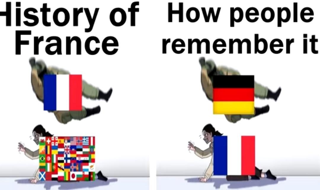 France sucks - meme