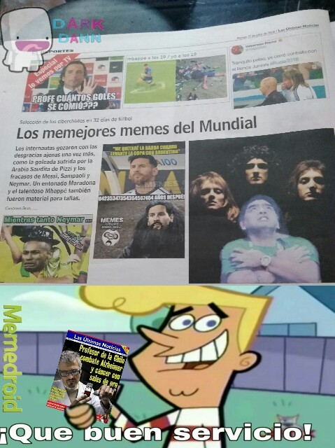 Diario de chile - meme