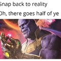 Thanos loved Shakespeare