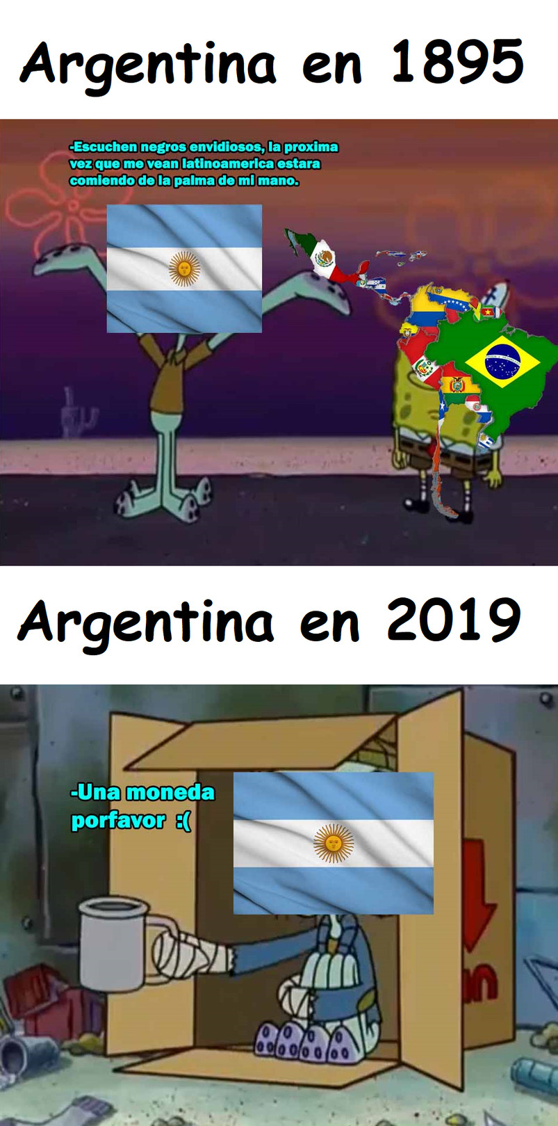 Que te pasó Argentina? - meme