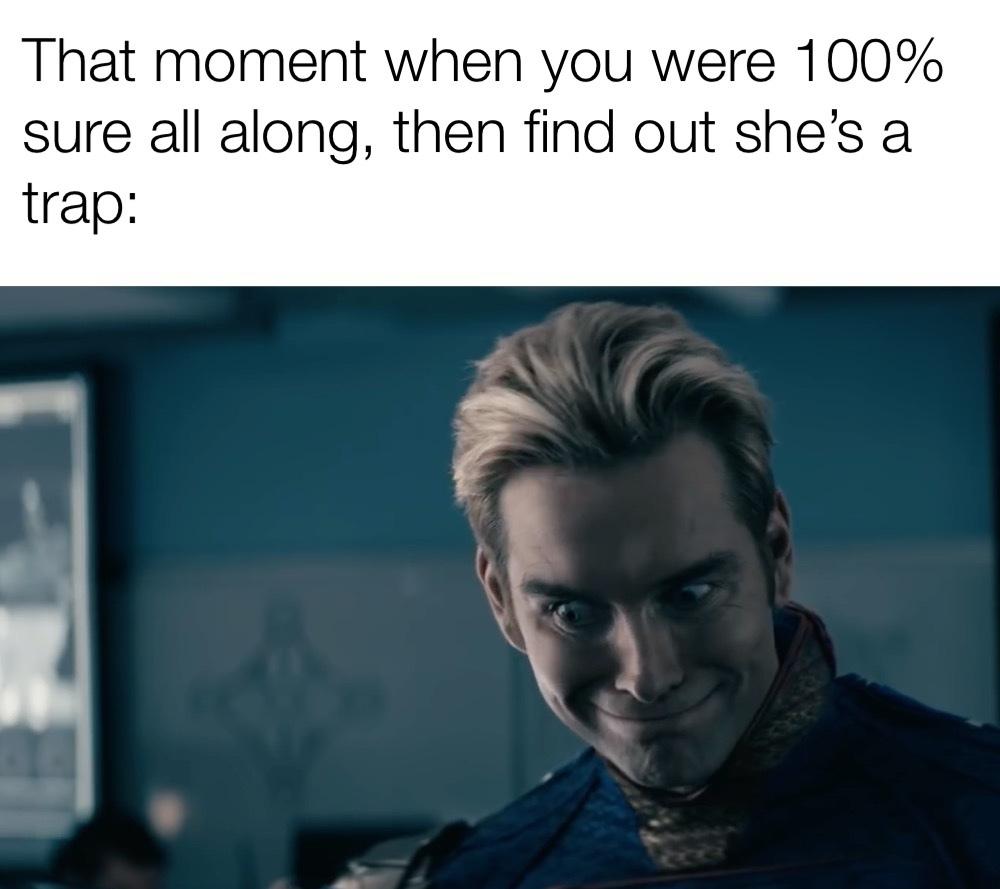 it's a trap!!! - meme