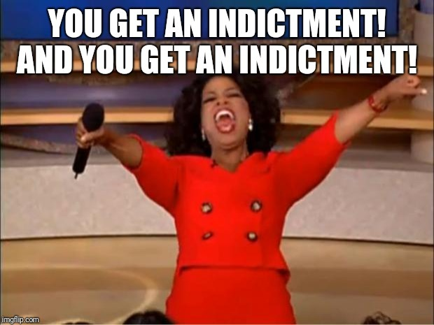 When the Justice Department finally cracks down on the Trump Administration - meme
