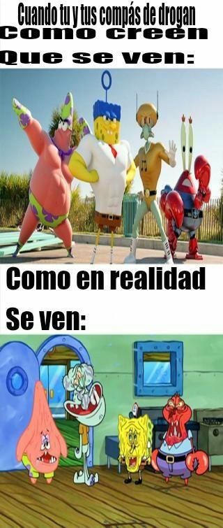 Drogas - meme